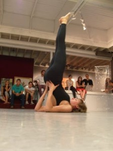 Image from Headstand performance by Jessica Borusky