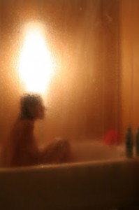 Image from Shower performance by Jessica Borusky